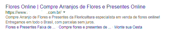 imagem de exemplo de meta description para post sobre o que é seo