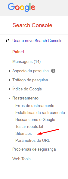 rastreamento-search-console