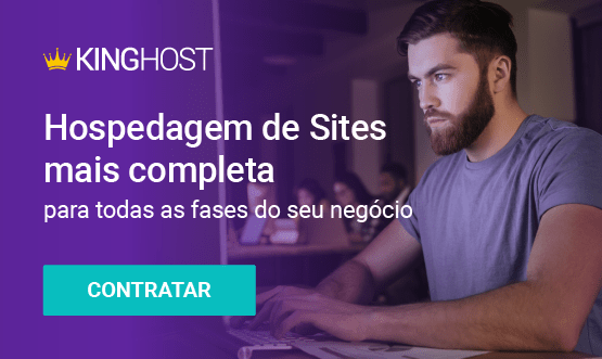 banner para hospedagem de sites kinghost em post sobre backlinks