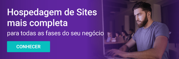 banner hospedagem de sites para landing pages