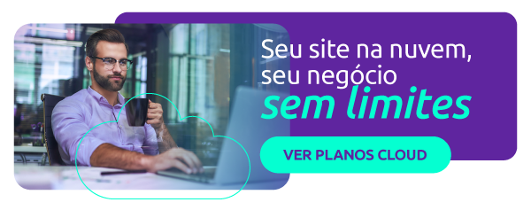 site fora do ar - hospedagem cloud