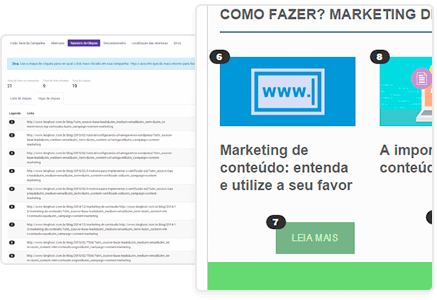 Email Marketing: Mapa de cliques