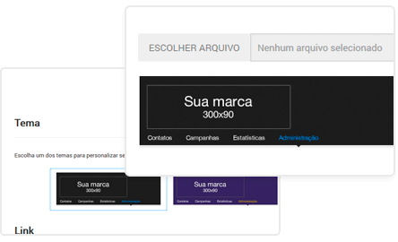 Email Marketing: Personalização de Interface