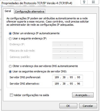 DNS Recursivo (Win 7)
