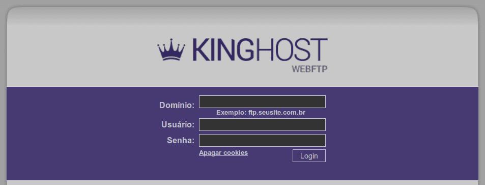 webftp KingHost