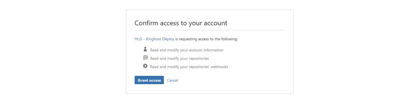 BitBucket - Integração com a KingHost