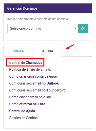 migrar emails do Terra para a KingHost