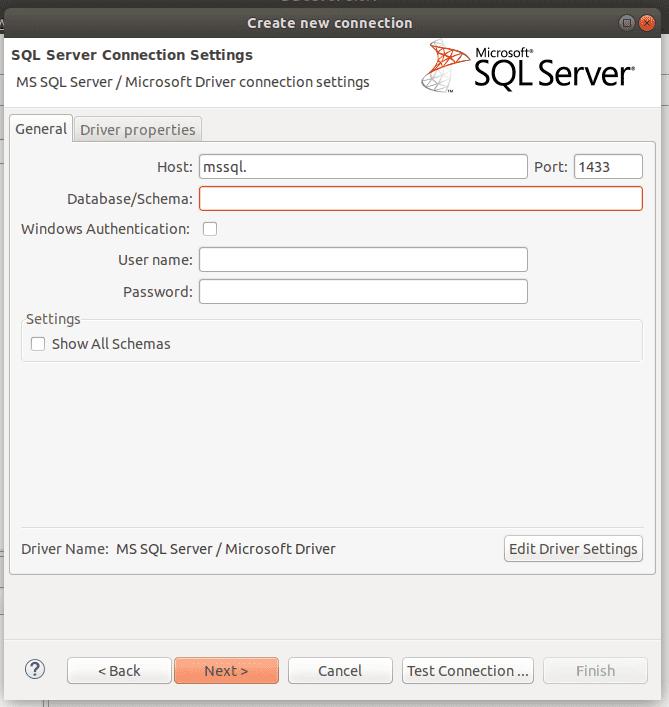 Acessar um banco SQL Server pelo DBeaver - Central de Ajuda KingHost