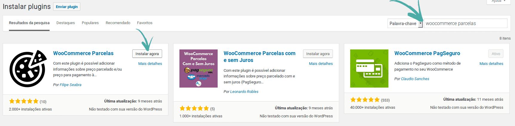 WooCommerce Parcelas - Parcelamento de produtos da loja