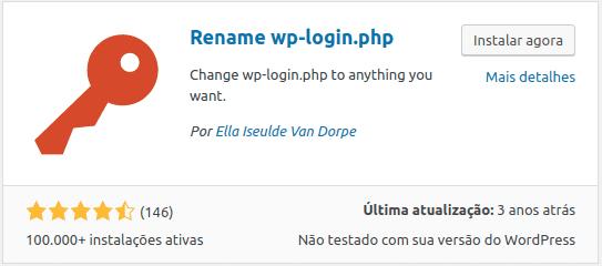 Plugin Rename wplogin
