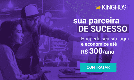 Hospede seu site na King