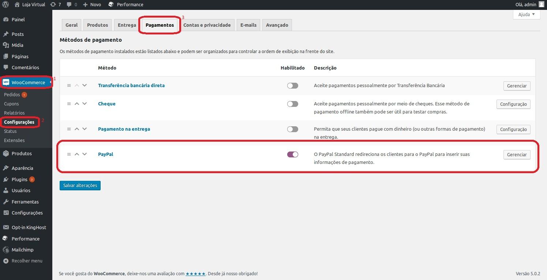 39952950b Métodos de pagamento via PayPal no WooCommerce - Central de Ajuda ...