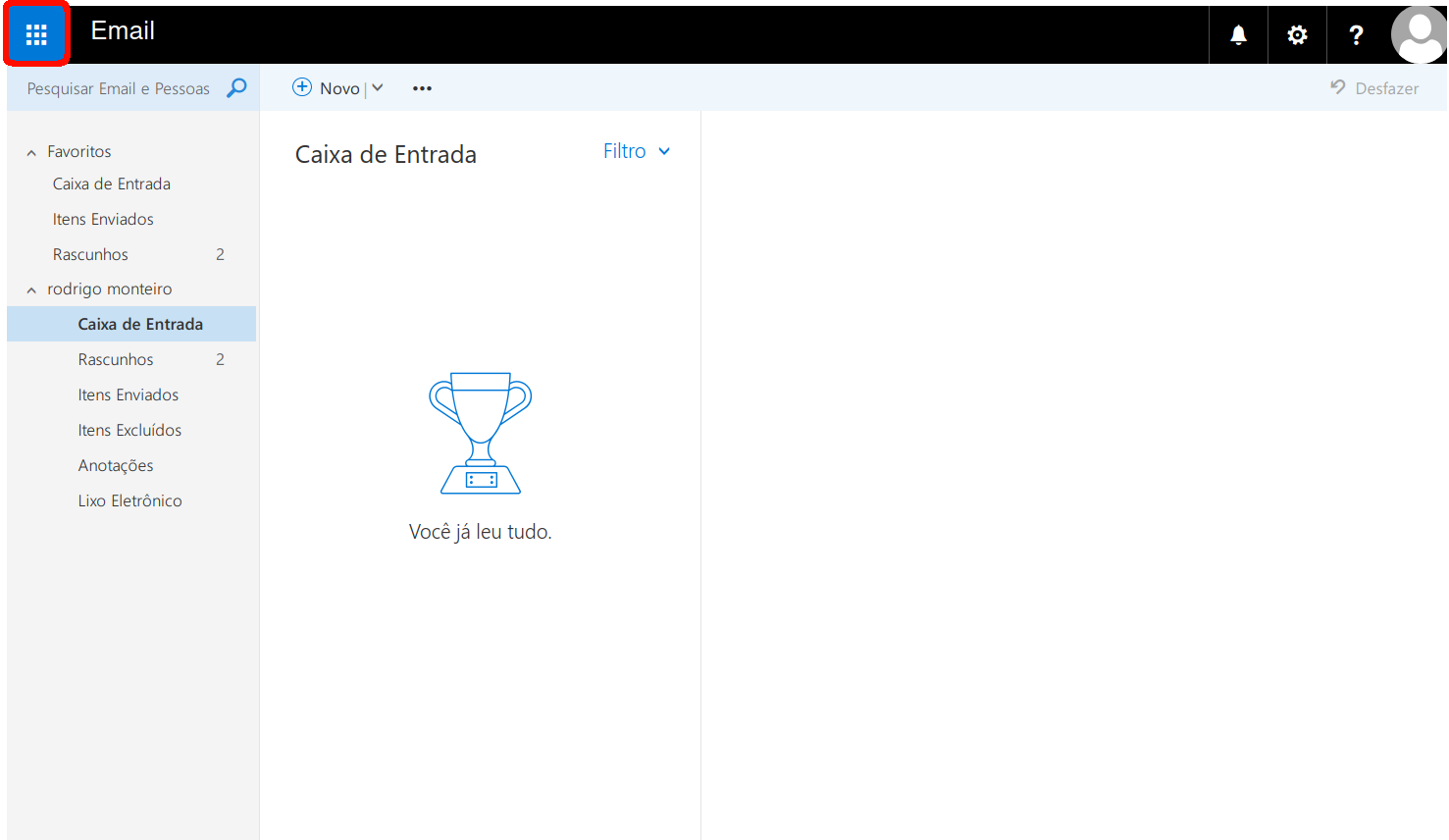 Como criar um grupo de contatos. Primeiro passo: acessar o menu aplicativos.
