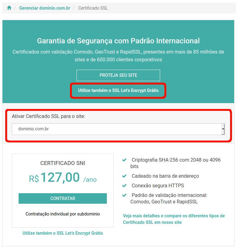 Certificado SSL Let's Encrypt